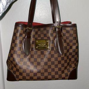 Louis Vuitton Damier Ebene Hampstead MM Bag